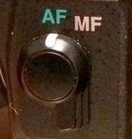 AF-MF Switch